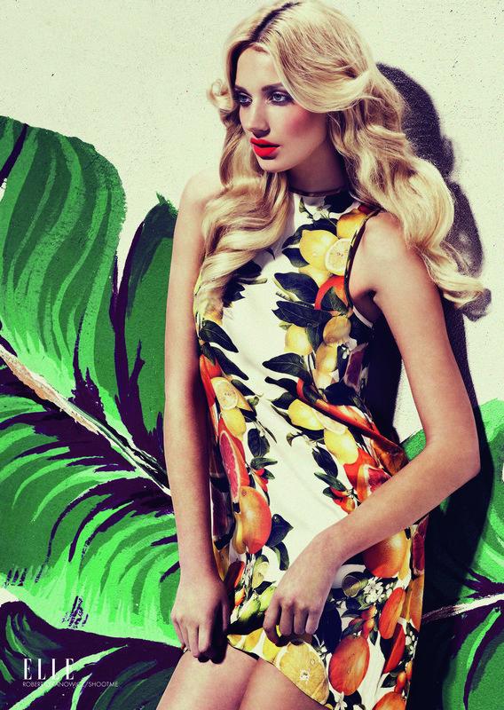 Fashion Photography Elle Fashion Flash Fashion in ELLE.