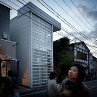Jérémie Souteyrat, Tokyo houses, Glass shutter house by Shigeru Ban, ©Jérémie Souteyrat, FF2011