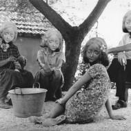 Zofia Rydet, z cyklu Oczekiwania, 1973-75
